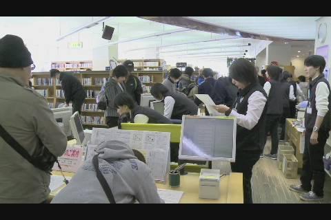 図書館オープニング