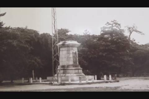 70年前の弘前城写真展