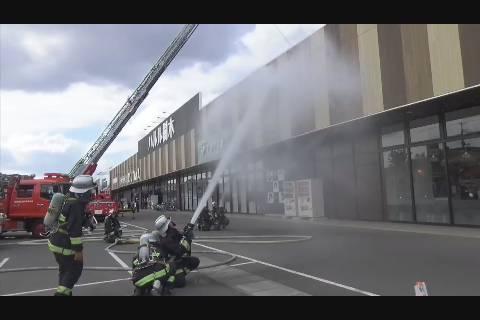 ハルル樹木消防訓練