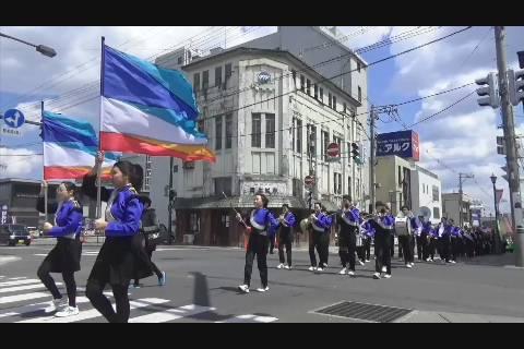 春の交通安全パレード