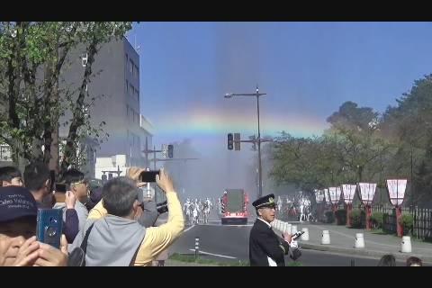 消防観閲式