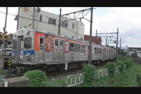 桜ミク電車