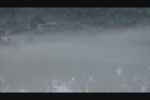霧の岩木川