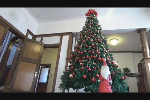 洋館クリスマス装飾
