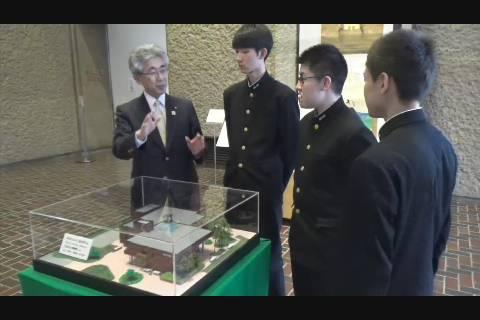 弘前市立博物館寄贈セレモニー