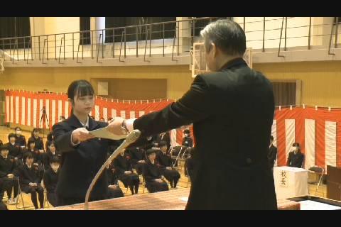 柴田学園卒業式