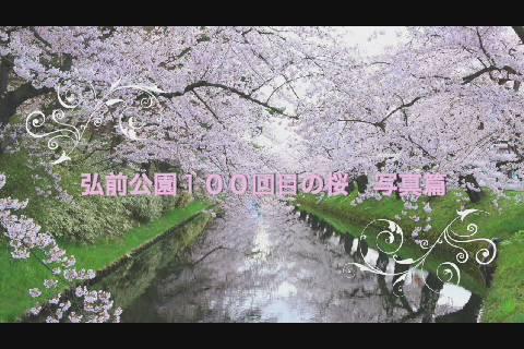 弘前公園写真篇