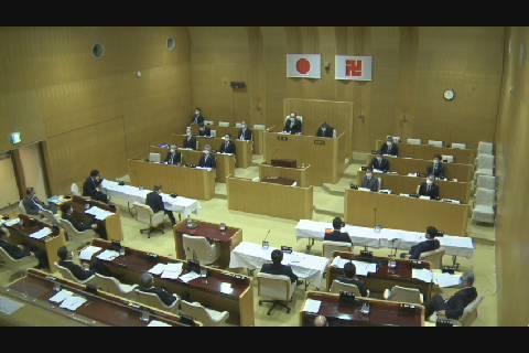 弘前市議会臨時会200522