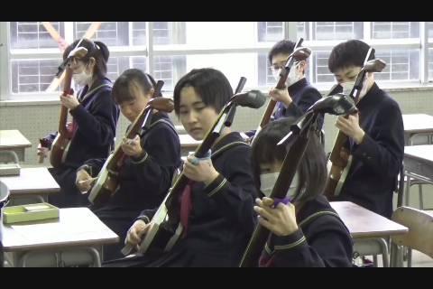 津軽三味線体験授業