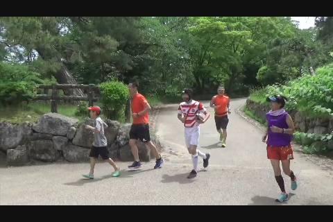 ひとり弘前城リレーマラソン
