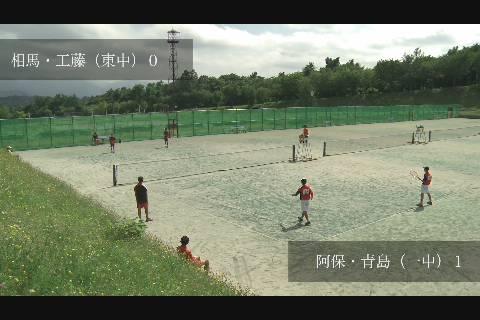 中体連2020ソフトテニス男子
