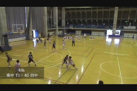 中体連2020バスケ女子決勝