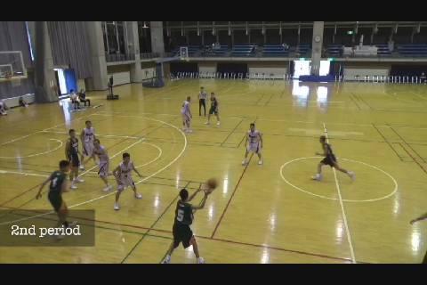 中体連2020バスケ男子決勝