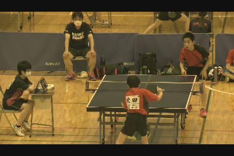 中体連2020卓球団体