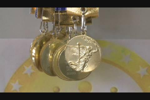 桔梗野小マラソンメダル