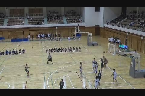 中体連新人戦バスケ