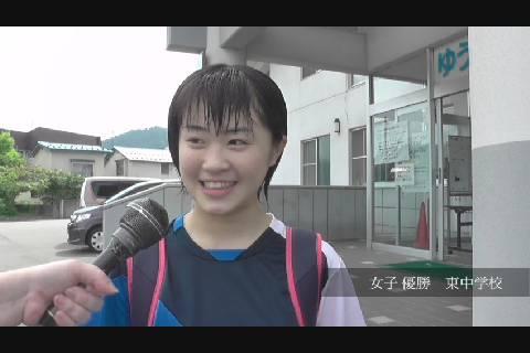 中体連新人戦2020水泳