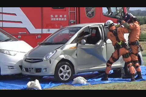 弘前市防災訓練